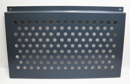 Вентилируемые фасады из алюминиевых кассет с перфорацией