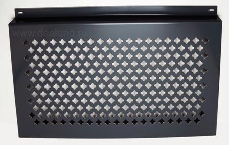 Вентилируемые фасады из алюминиевых кассет перфорированные