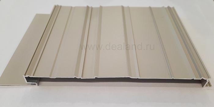 Алюминиевая рейка для вентилируемых фасадов